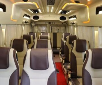 12 Seater Tempo traveller Online Car rental in Bangalore .cabsrental.in