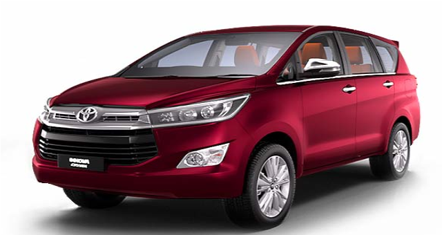 Innova for rent in Bangalore | Innova crysta rentals