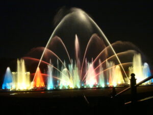 Indira Gandhi Musical Fountain Park, Bangalore,Sightseeing cabs in Bangalore,Citylinecabs.com, cabsrental.in