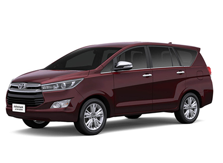 Innova Crysta Car Rental with Driver in Chennai