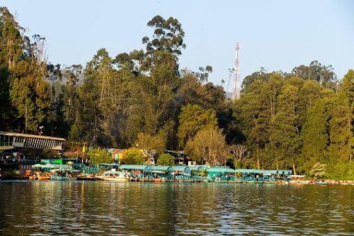 Ooty Boat House, Ooty City Darshan cab,cabsrental.in