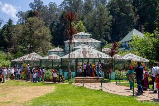 Ooty Botanical Garden, Ooty City Darshan cab,cabsrental.in