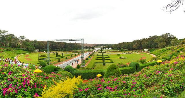 Brindavan Gardens,Mysore City darshan Cab,cabsrental.in