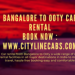 Car rental from Bangalore to Ooty.cabsrental.in