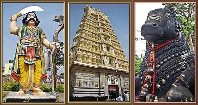 Chamundeshwari Temple.Mysore City darshan Cab,cabsrental.in