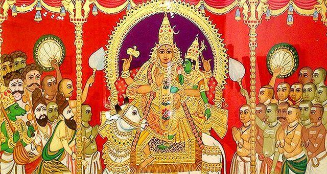 Mysore Paintings.Mysore City darshan Cab,cabsrental.in