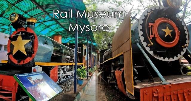 Mysuru Rail Museum.Mysore City darshan Cab,cabsrental.in