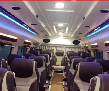 17 seater Tempo Traveller in Bangalore.cabsrental.in