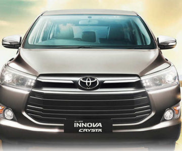 Innova Crysta on rent Rs 14 Per km.cabsrental.in
