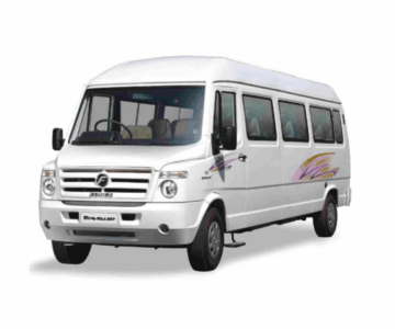 AC 12 seater Tempo traveller for outstation.cabsrental.in