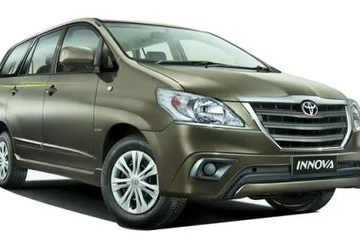 AC Innova 7 Seater cab for outstation.cabsrental.in