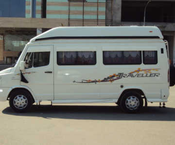 AC tempo traveller rental in bangalore for outstation.cabsrental.in