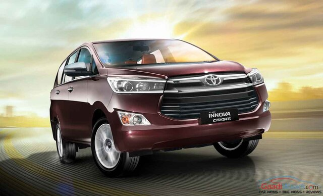 innova crysta taxi price per km in Bangalore,cabsrental.in