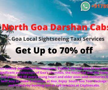 North Goa Darshan Cabs ,Goa Local Sightseeing Taxi,cabsrental.in