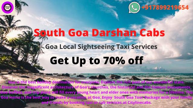 South Goa Darshan Cabs, Goa Local Sightseeing Taxi,cabsrental.in